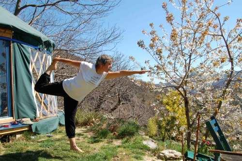 yoga yourte